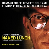 Album artwork for Naked Lunch - Soundtrack. Howard Shore