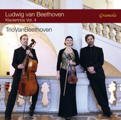 Album artwork for Beethoven: Piano Trios, Vol. 4