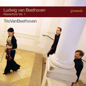 Album artwork for Beethoven: Piano Trios, Vol. 1