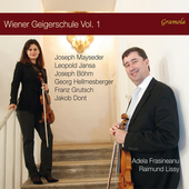 Album artwork for The Viennese Violin School, Vol. 1