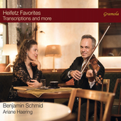Album artwork for Heifetz Favorites - Transcriptions and more