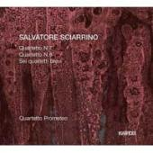Album artwork for Sciarrino: String Quartets