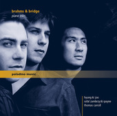 Album artwork for Brahms: Piano Trio No. 1 in B Major, Op. 8 - Bridg