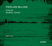 Album artwork for Pierluigi Billone: ITI KE MI & Equilibrio. Cerchio