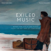 Album artwork for Exiled Music: Works for Violin and Piano from the