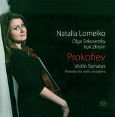Album artwork for PROKOFIEV: VIOLIN SONATAS & MELODIES