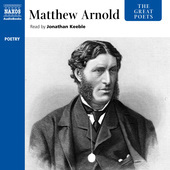 Album artwork for The Great Poets: Matthew Arnold