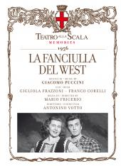 Album artwork for Puccini: La Fanciulla del West / Frazzoni, Corelli