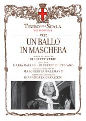 Album artwork for Verdi: Un Ballo in Maschera / Callas, Di Stefano