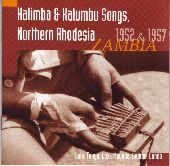 Album artwork for HALIMBA & KALUMBU SONGS, NORTHERN RODESIA