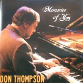 Album artwork for Don Thompson - Memories of you