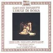 Album artwork for Donizetti: L'Esule di Roma / Alaimo, Gasdia