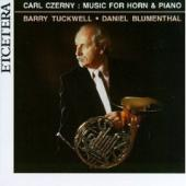 Album artwork for Carl Czerny: Music for Horn and Piano / Tuckwell