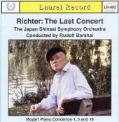 Album artwork for Richter: The Last Concert / Barshai
