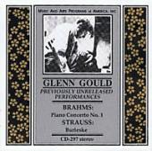 Album artwork for Glenn Gould in Concert (Previously Unreleased)
