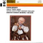Album artwork for Great Verdi Arias / Louis Quilico, Uri Mayer