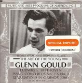 Album artwork for The Art of the Young Glenn Gould