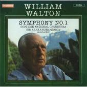 Album artwork for Walton: Symphony #1 / Gibson