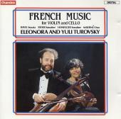 Album artwork for French Music for Violin and Cello / Turovsky Duo