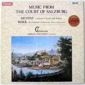 Album artwork for Music from the Court of Salzburg